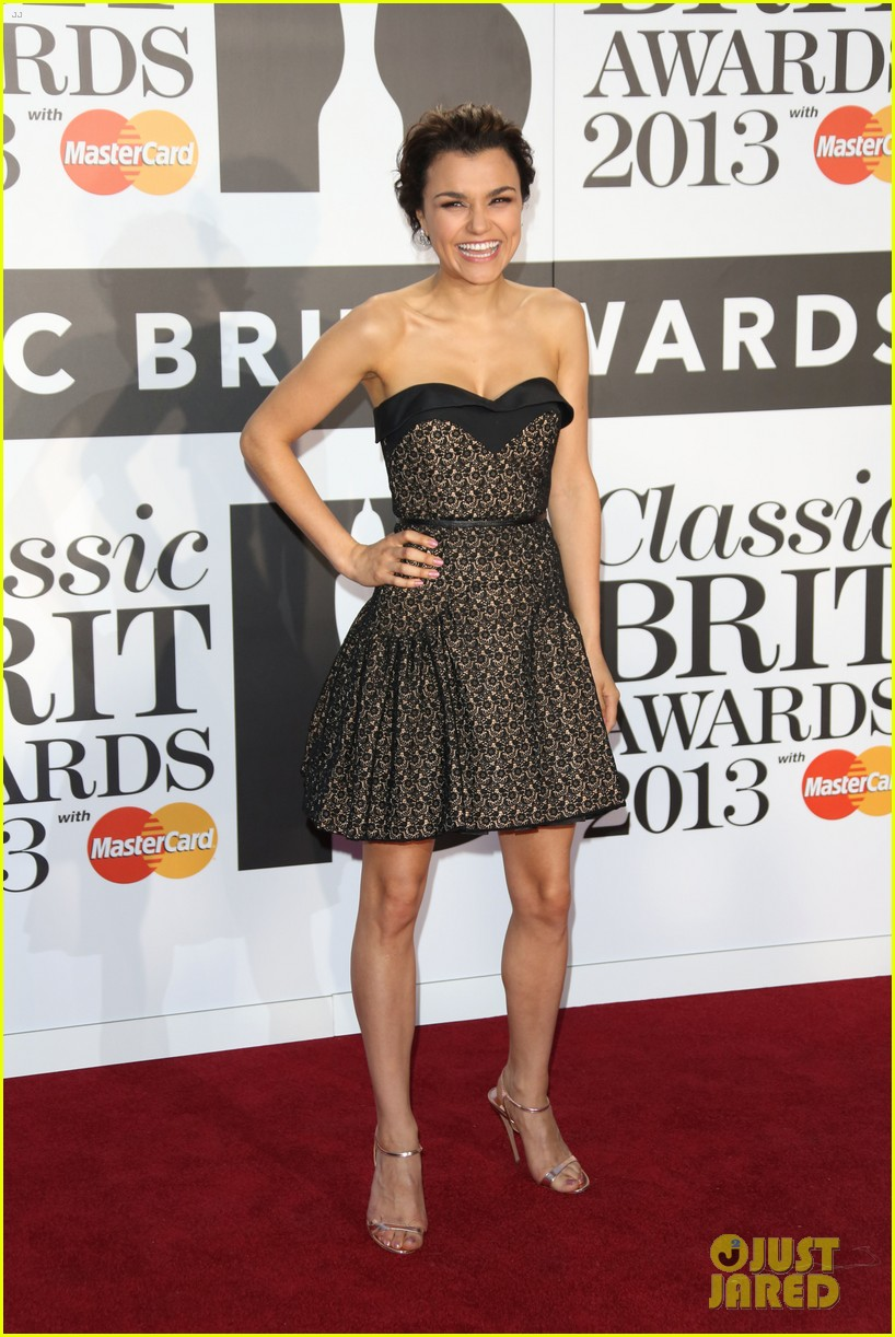 samantha barks celebrates birthday at classic brit awards 20