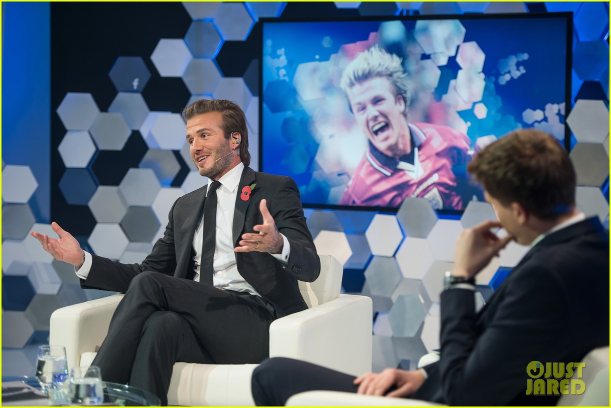 david beckham facebook global book signing 03