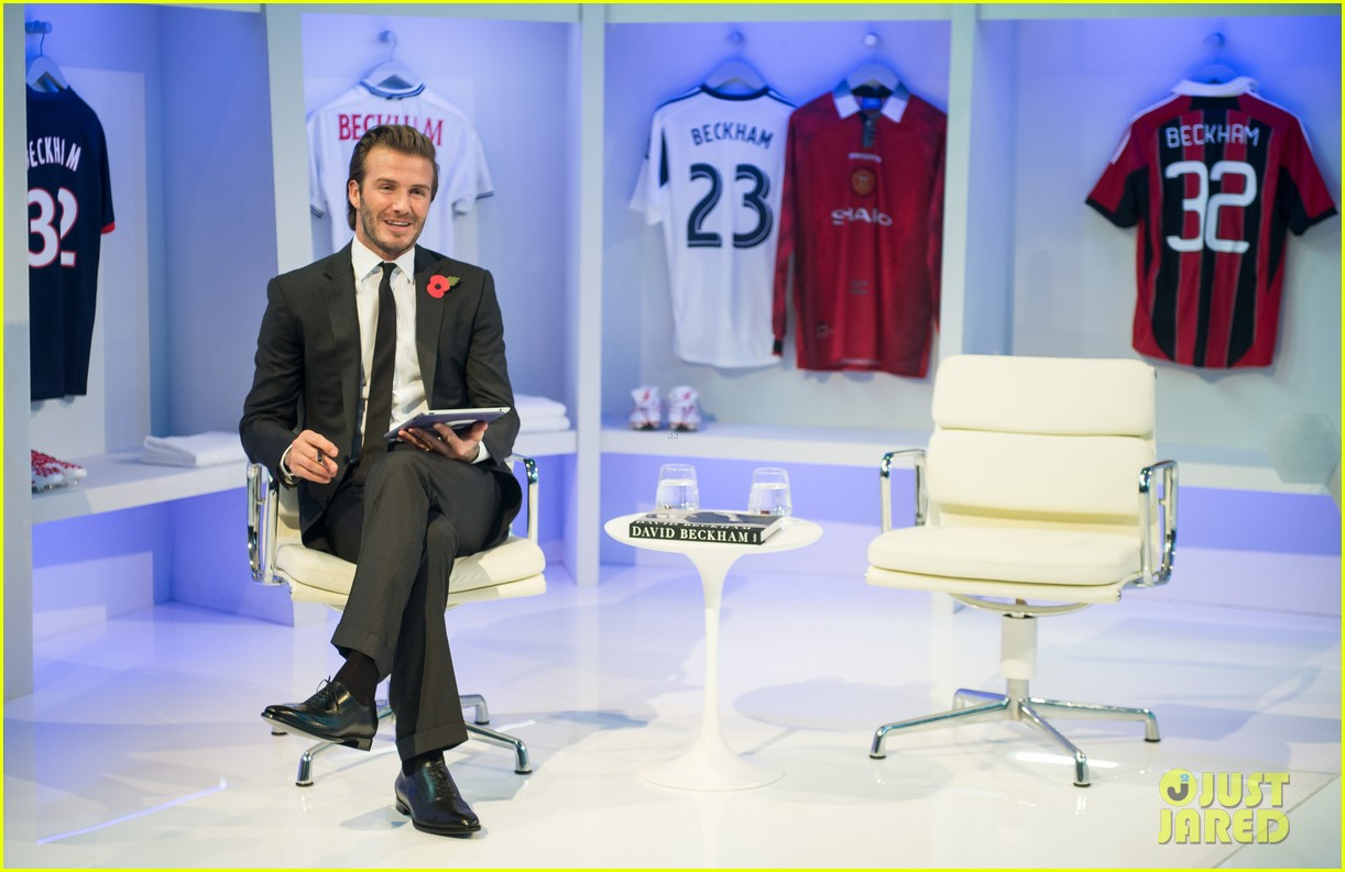 david beckham facebook global book signing 09