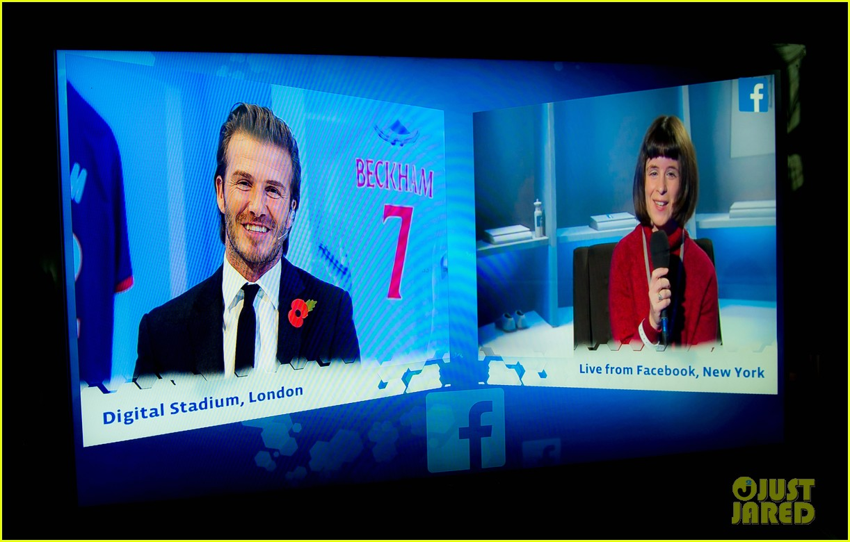 david beckham facebook global book signing 142982950