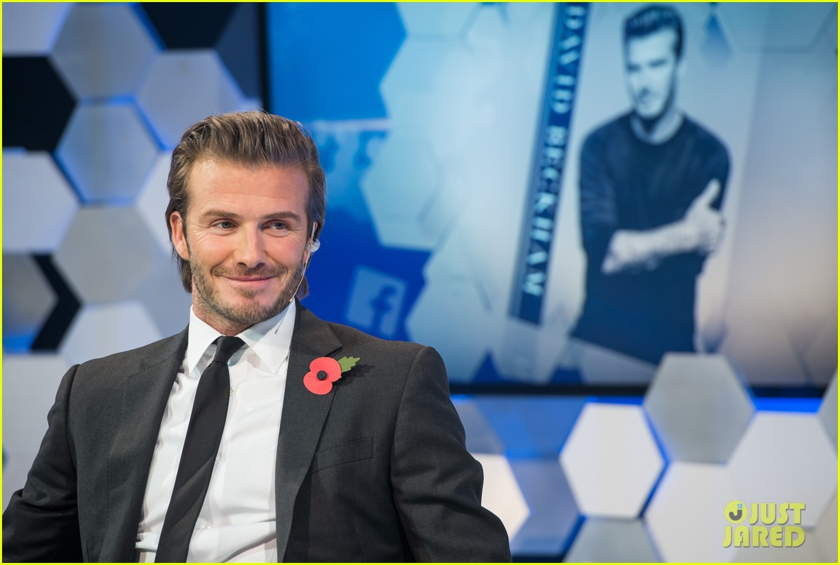 david beckham facebook global book signing 16