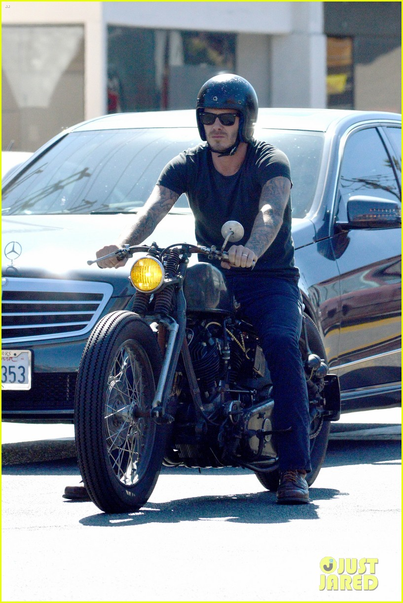 david beckham rides motorcycle in los angeles all week 07