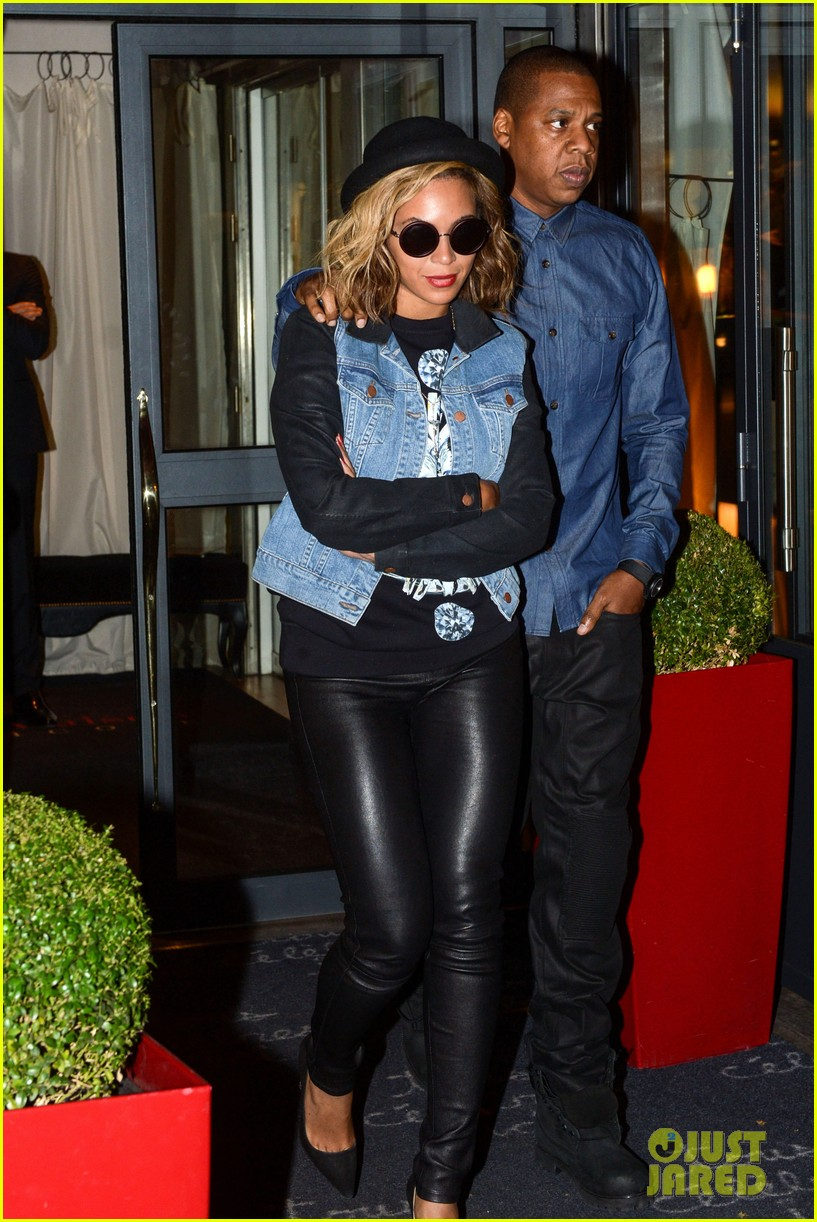 beyonce jay z dinner date in paris 022971590