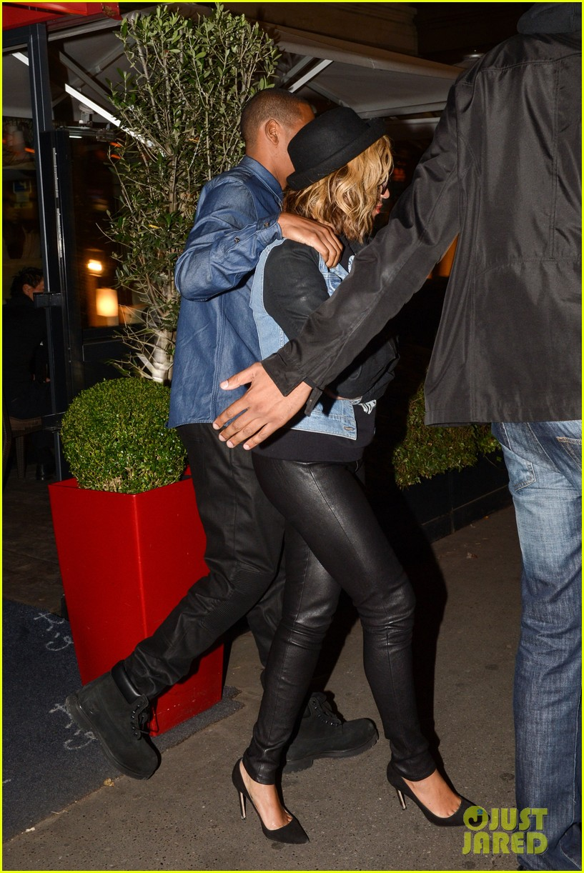 beyonce jay z dinner date in paris 072971595