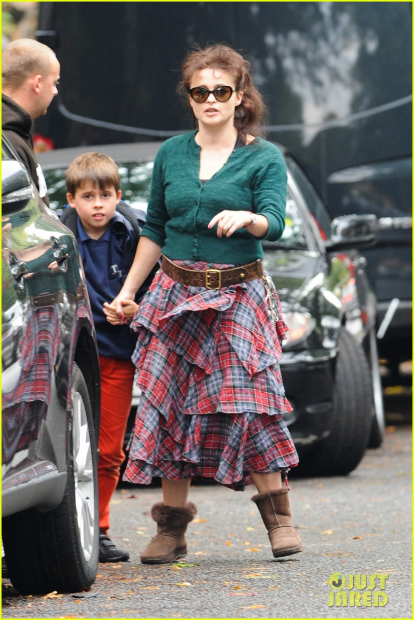 helena bonham carter steps out after tim burton cheating rumors 082965935