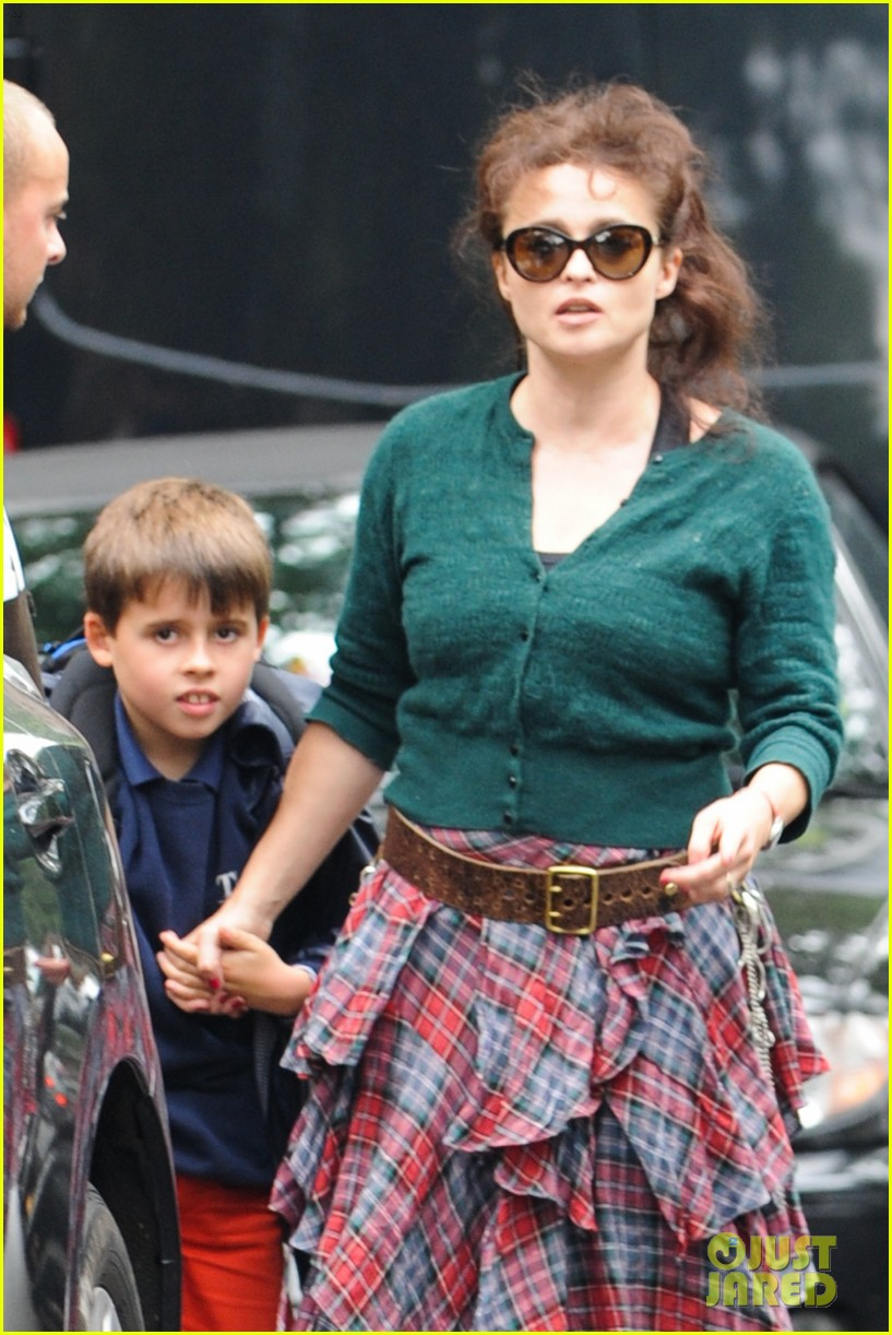 helena bonham carter steps out after tim burton cheating rumors 092965936