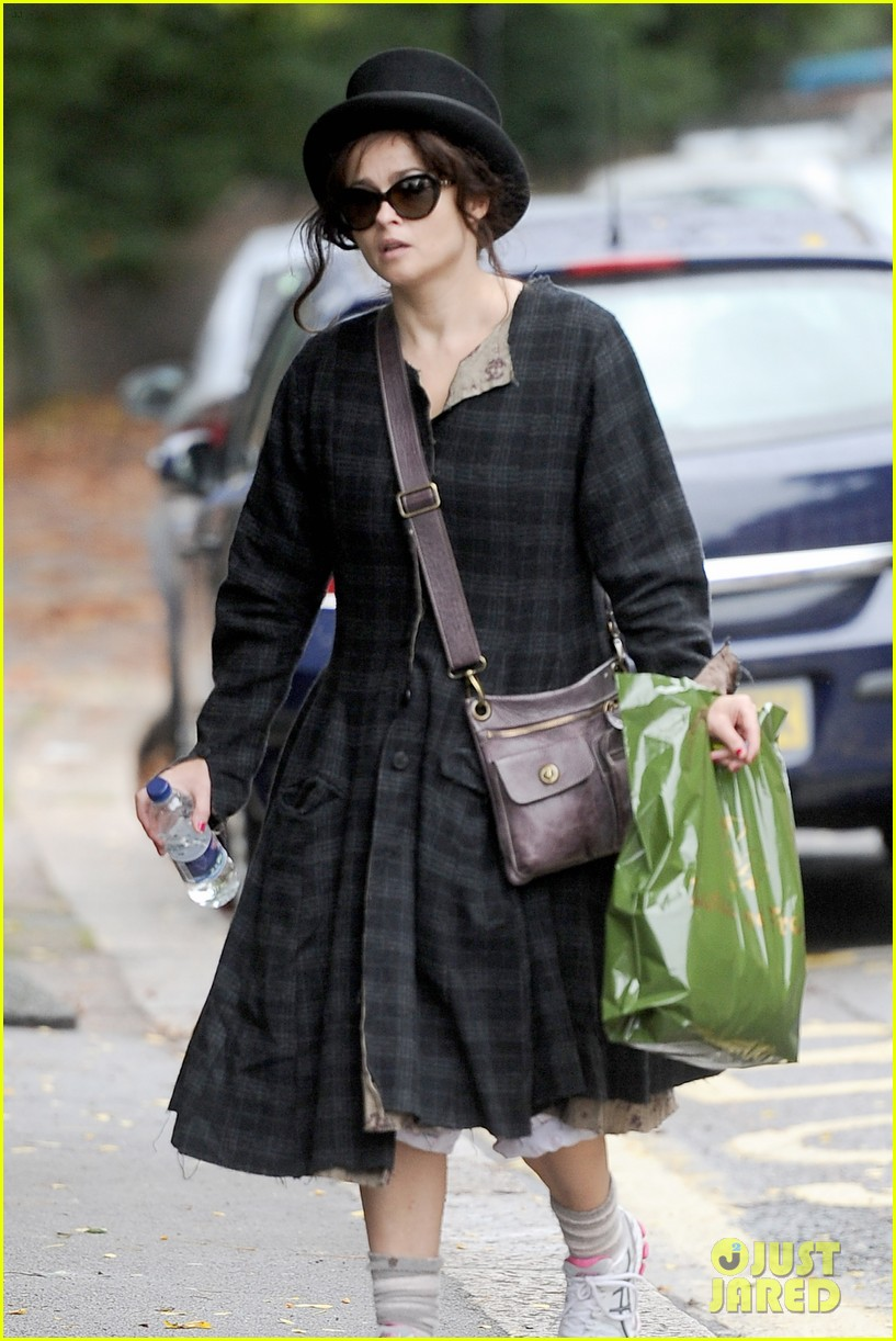 helena bonham carter steps out after tim burton cheating rumors 202965947