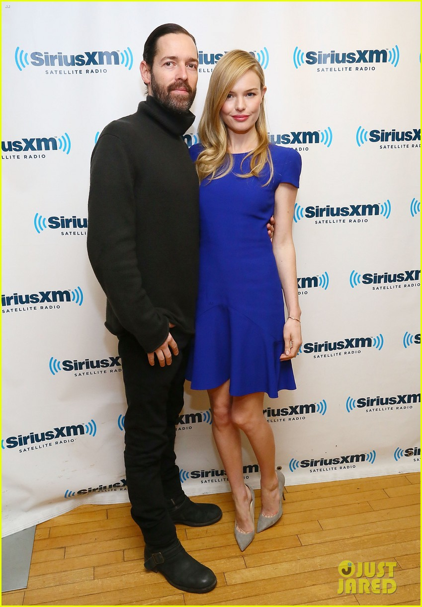 kate bosworth siriusxm radio stop with michael polish 032981780