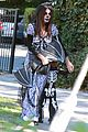 sandra bullock goes spooky for halloween party with louis 01