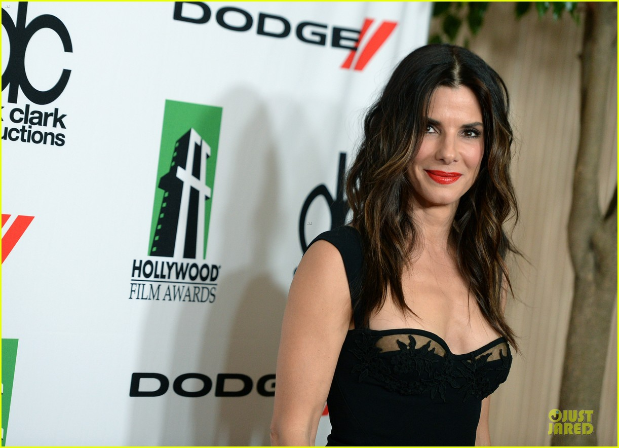 sandra bullock olivia munn hollywood film awards 2013 252976644