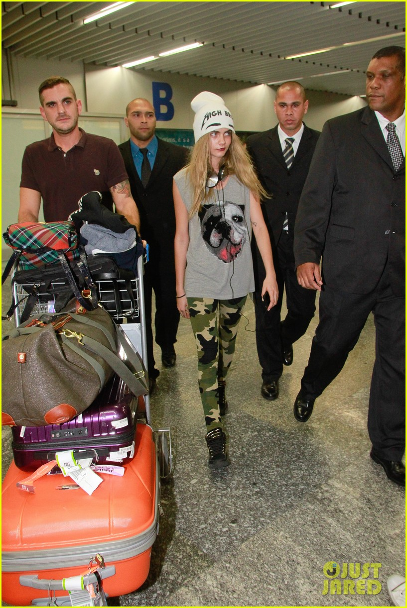 cara delevingne busy week in rio 11