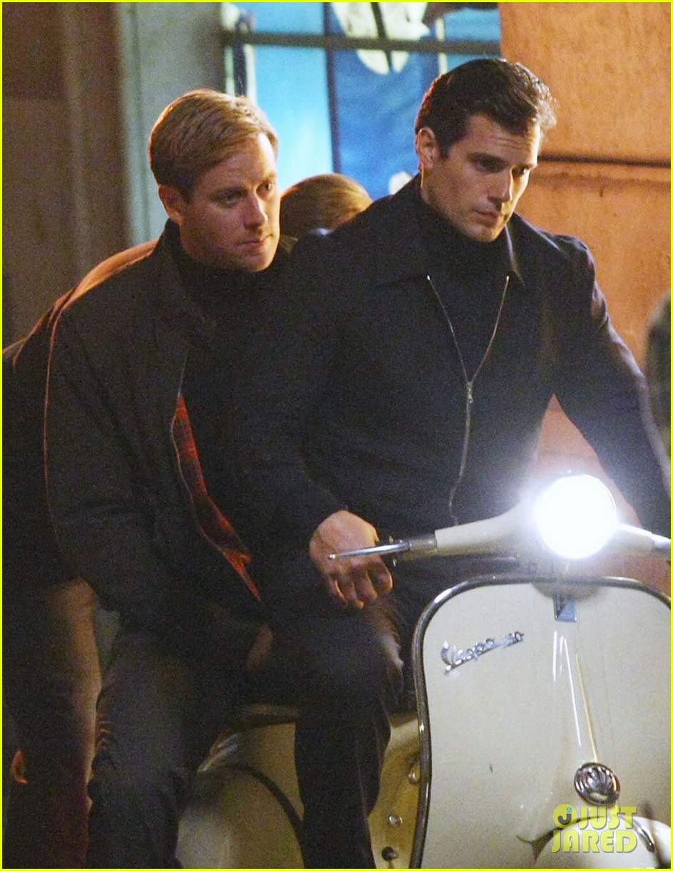 henry cavill armie hammer vespa ride for uncle 012965813