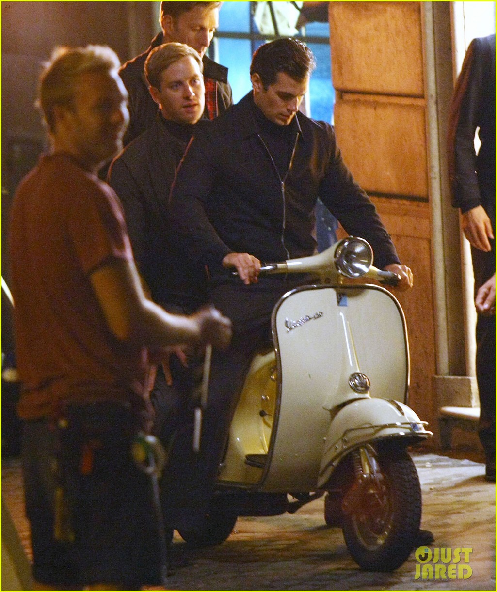 henry cavill armie hammer vespa ride for uncle 062965818