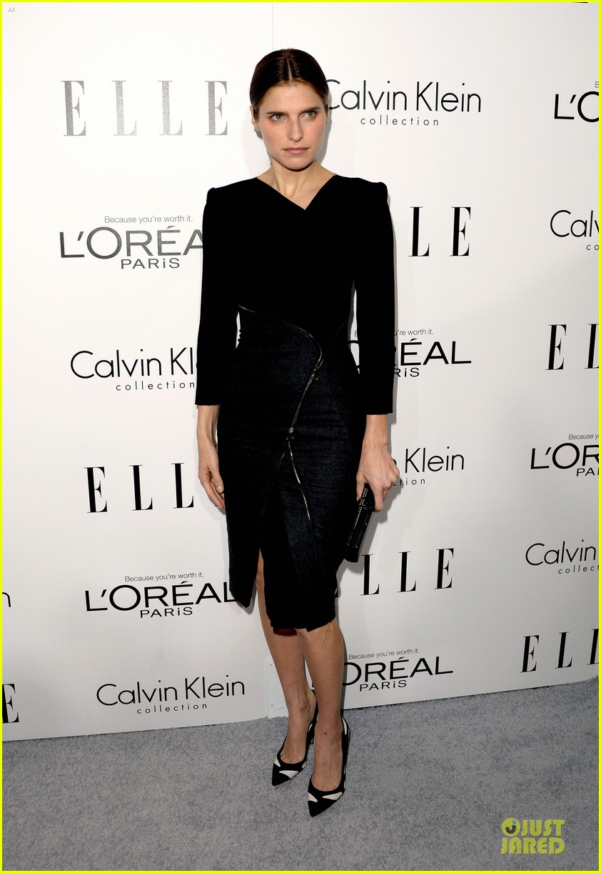 emilia clarke naomie harris elle women in hollywood celebration 20