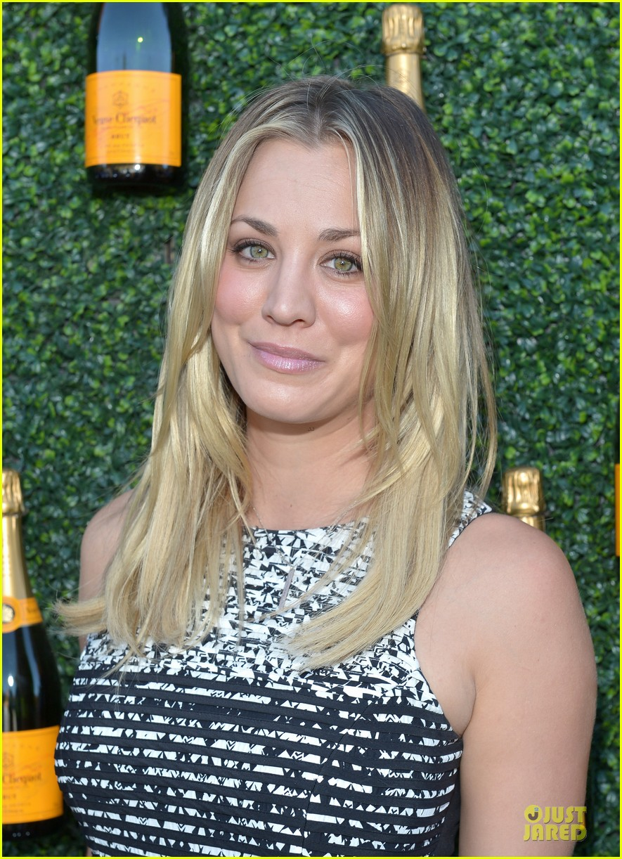 kaley cuoco ryan sweeting veuve clicquot polo classic kiss 102966903