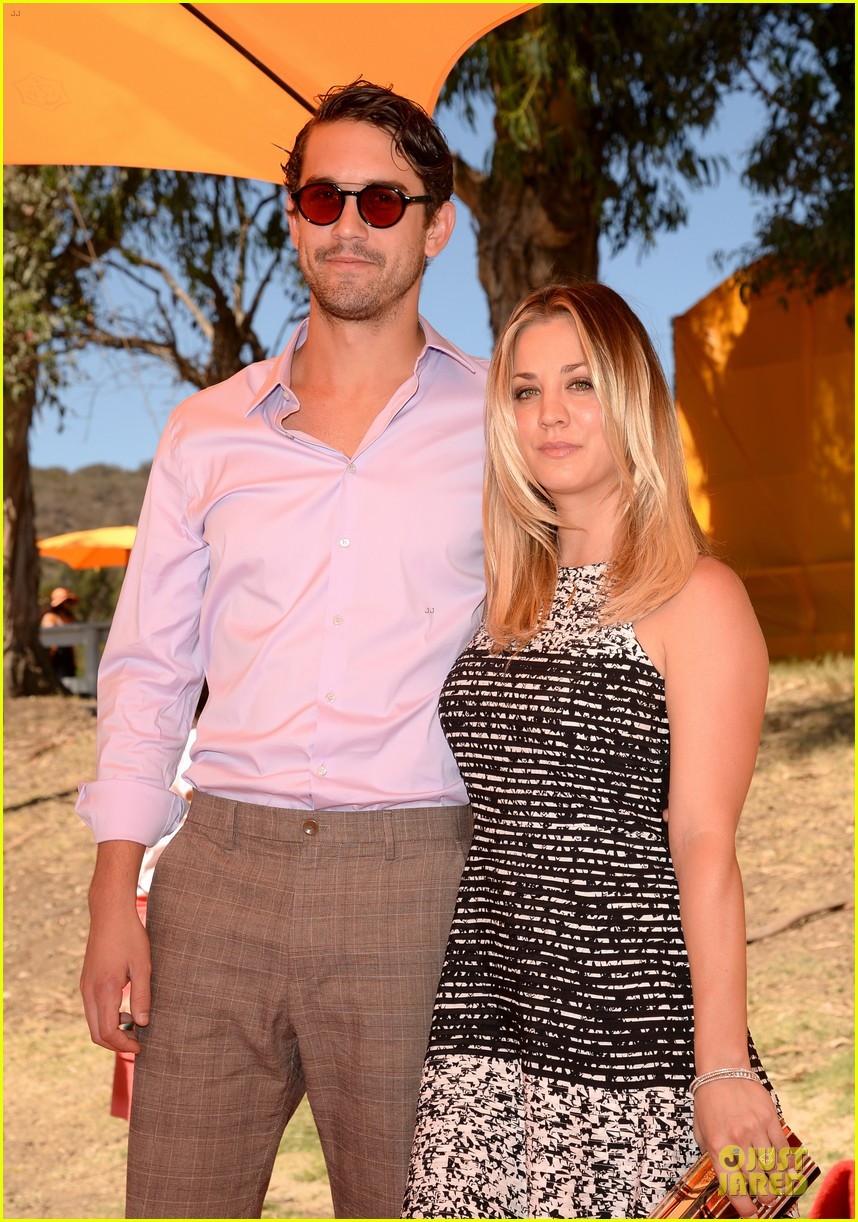kaley cuoco ryan sweeting veuve clicquot polo classic kiss 14