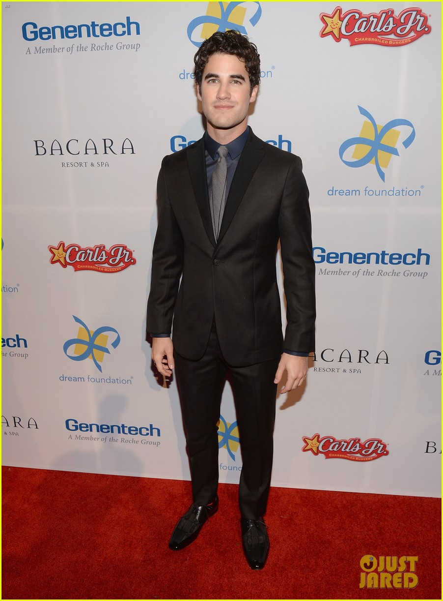 darren criss jane lynch celebration of dreams gala 2013 032981134