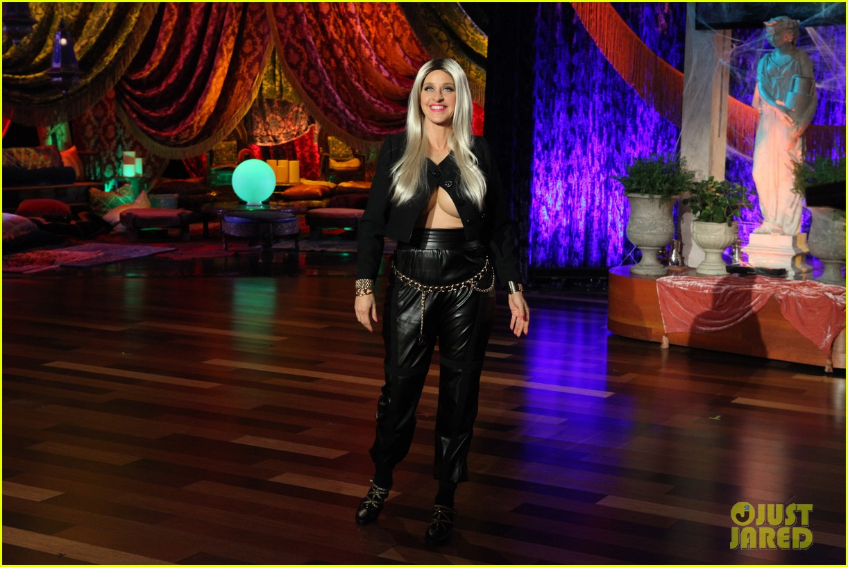 ellen degeneres nicki minaj costume for halloween 2013 012983313