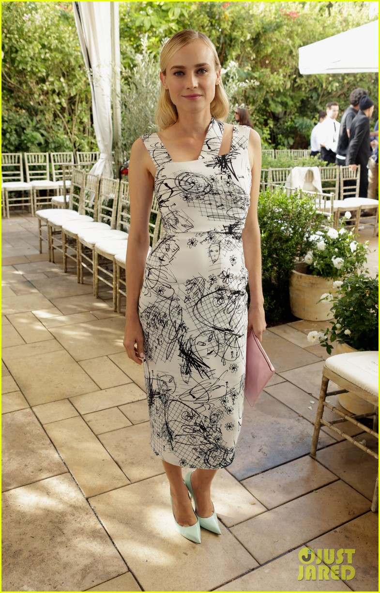 diane kruger emmy rossum cfda vogue fashion fund 2013 05