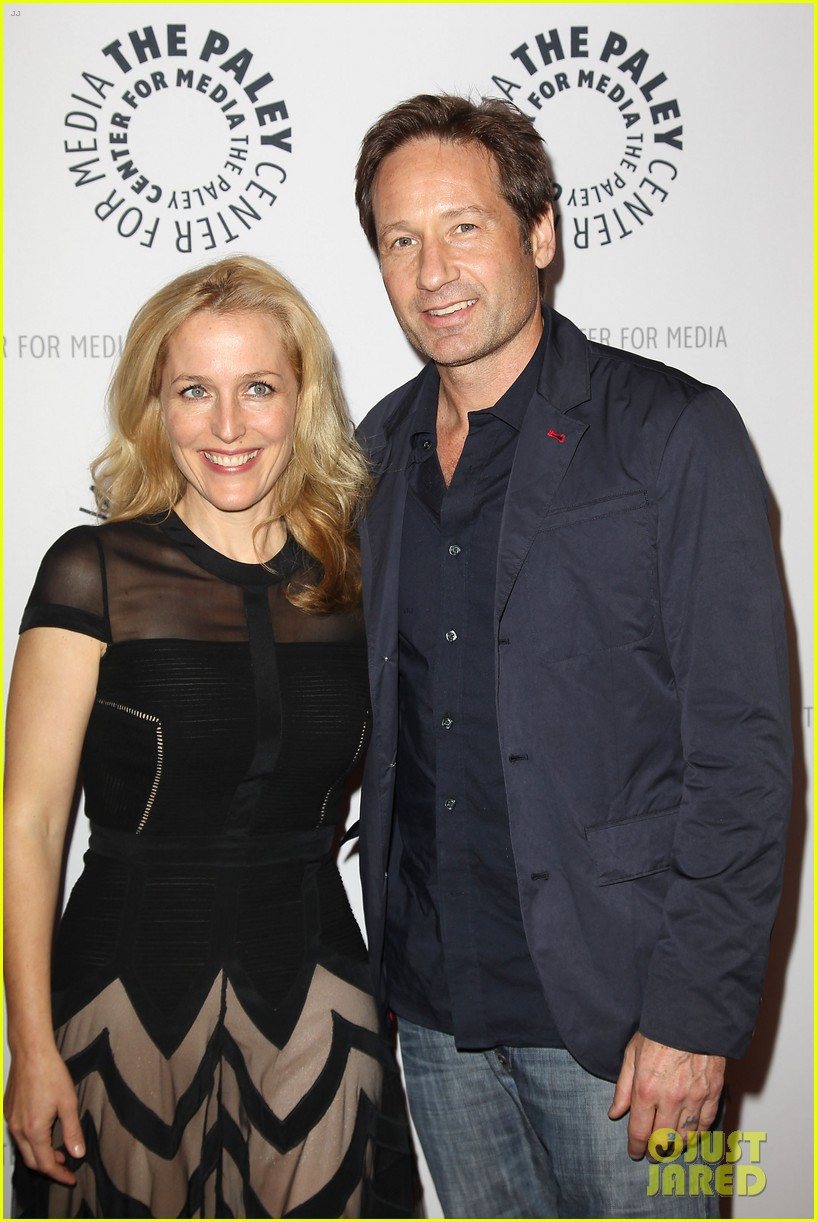 are gillian anderson and david duchovny dating 2012