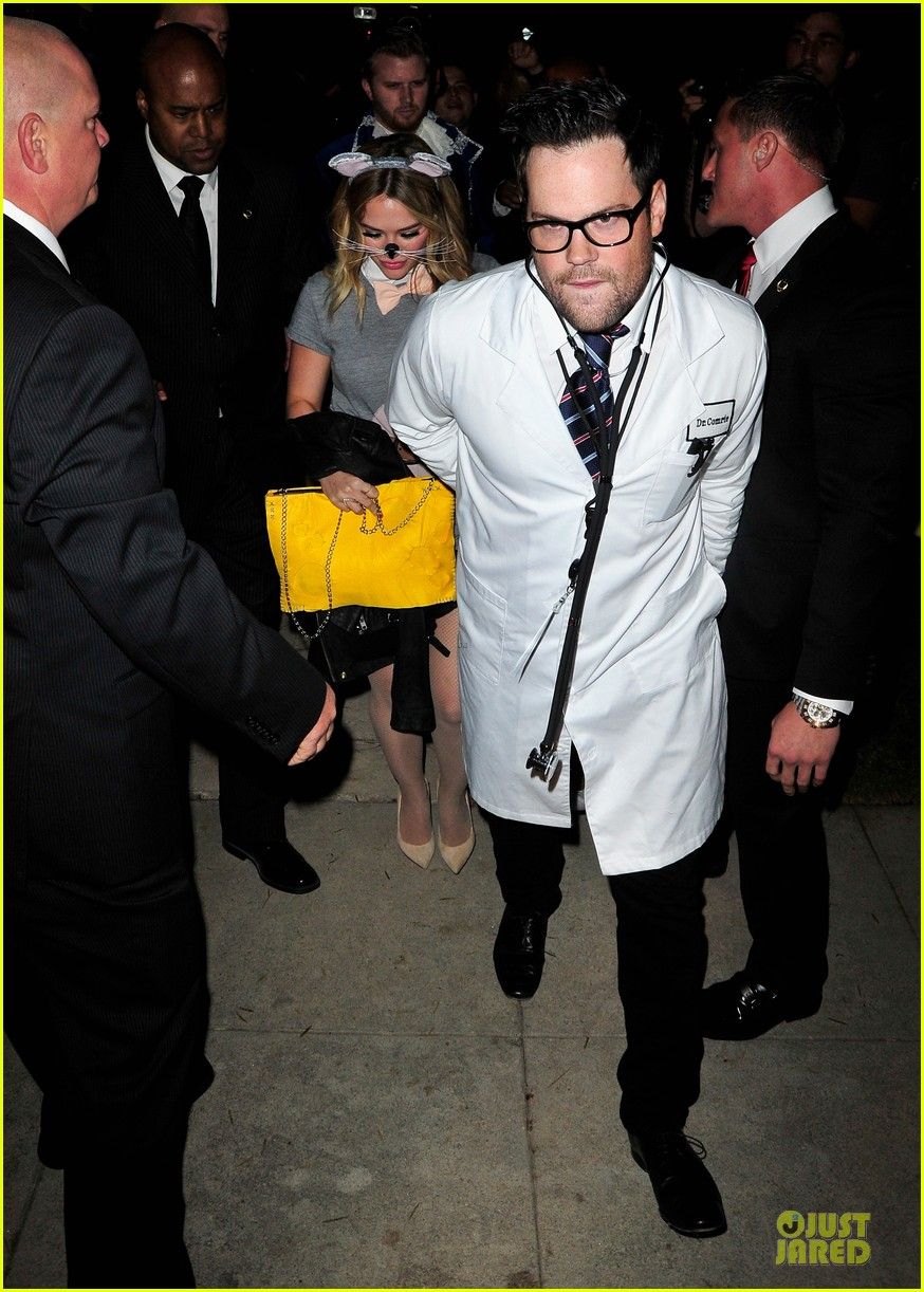 hilary duff mike comrie casamigos halloween party 2013 01