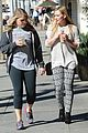 hilary duff grabs coffee with gal pal in beverly hills 11