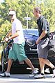 josh duhamel golf course fun with male pal 19