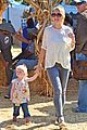 eric dane rebecca gayheart mr bones pumpkin patch visit 06