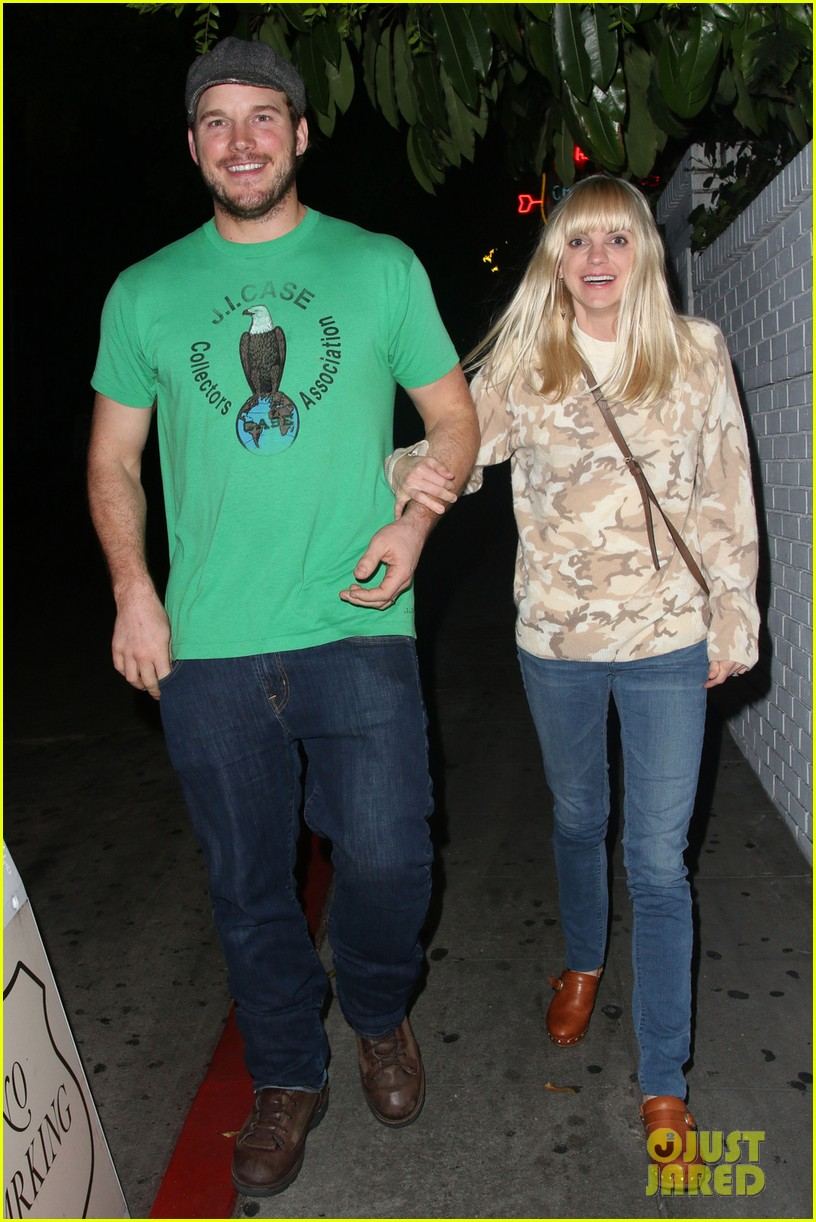 anna faris chris pratt double date with kaley cuoco 05