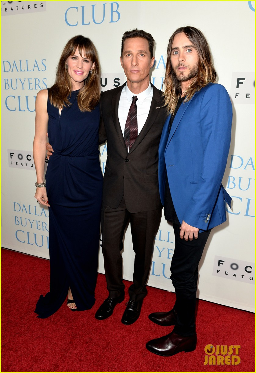 jennifer garner matthew mcconaughey dallas buyers club premiere 032974019
