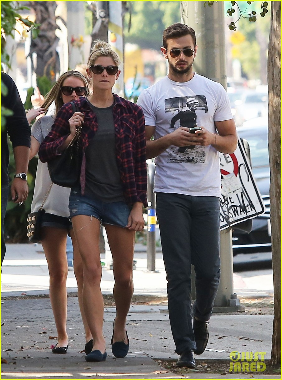 ashley greene paul khoury hang out with friends 09