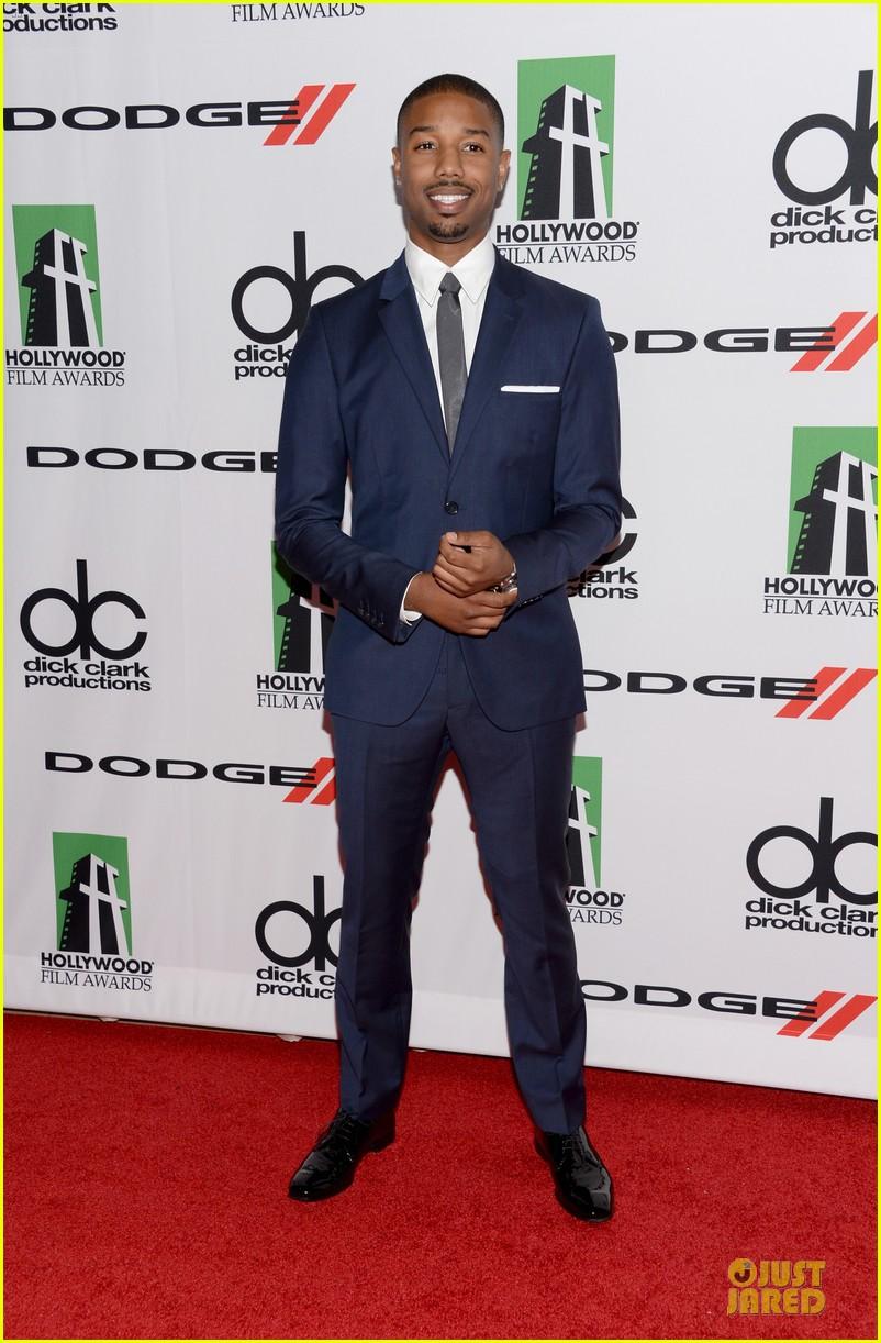 jake gyllenhaal michael b jordan hollywood film awards 2013 03