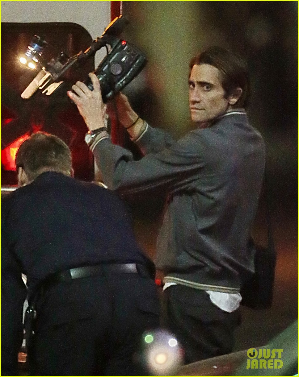 jake gyllenhaal overnight nightcrawler shoot 012976902