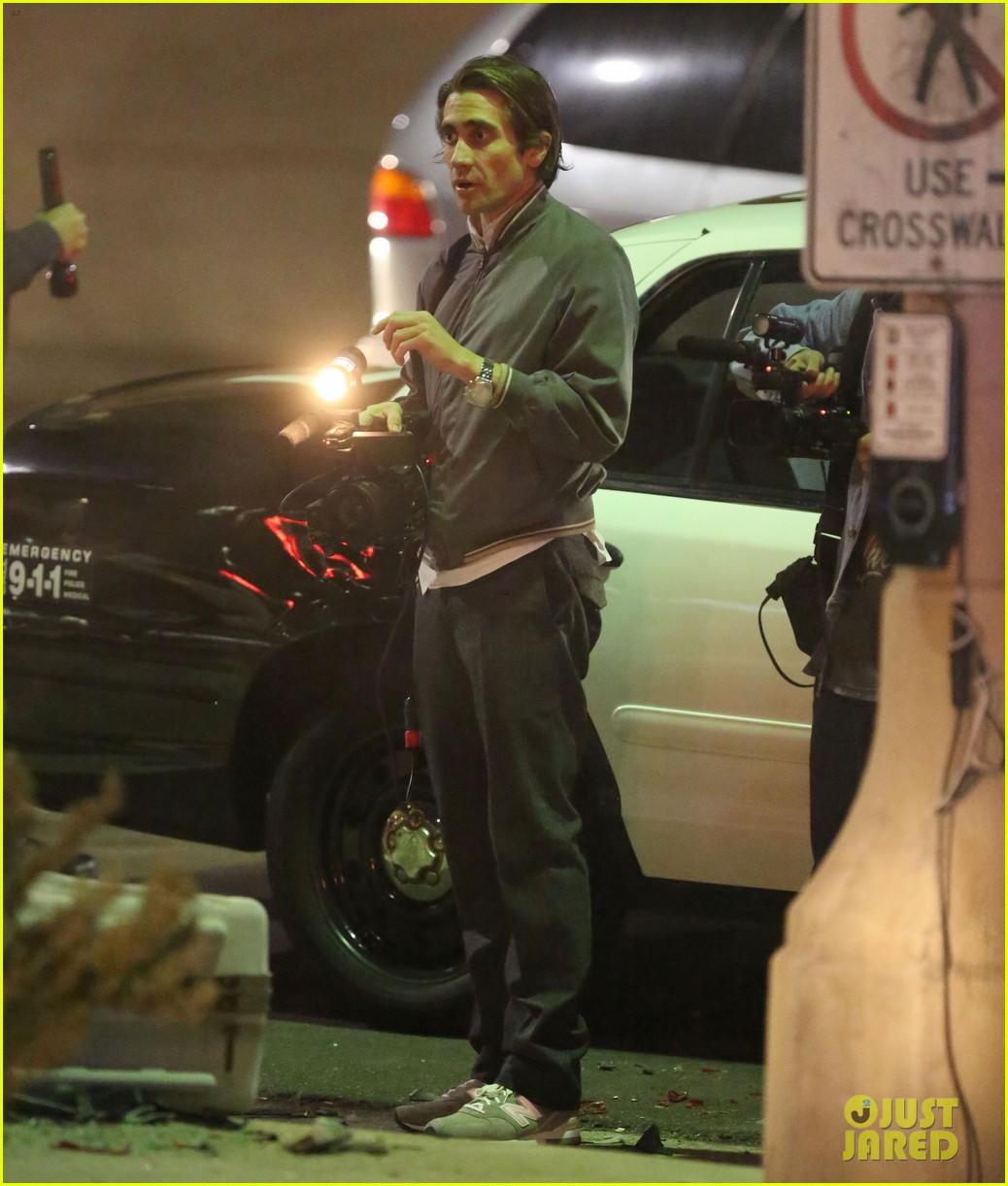 jake gyllenhaal overnight nightcrawler shoot 04