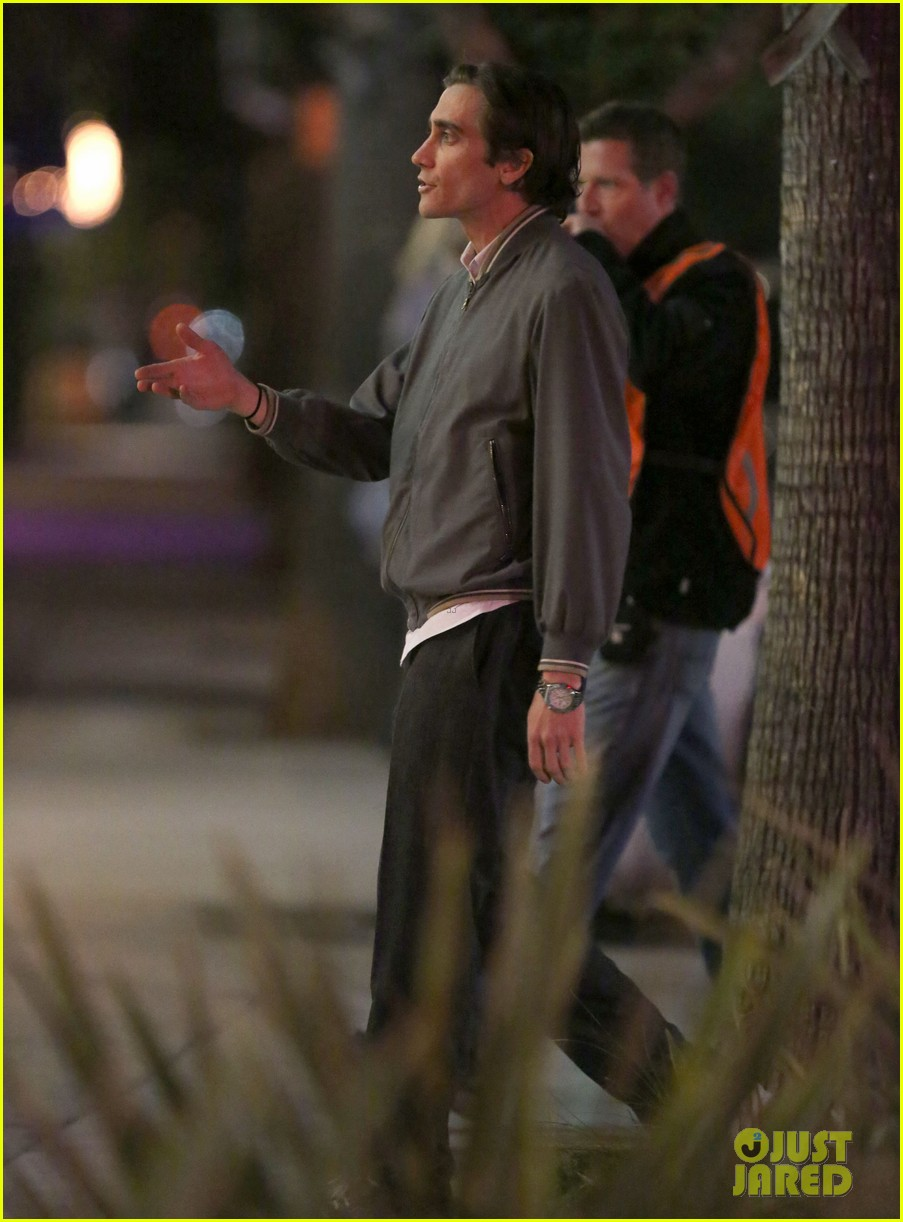 jake gyllenhaal overnight nightcrawler shoot 13