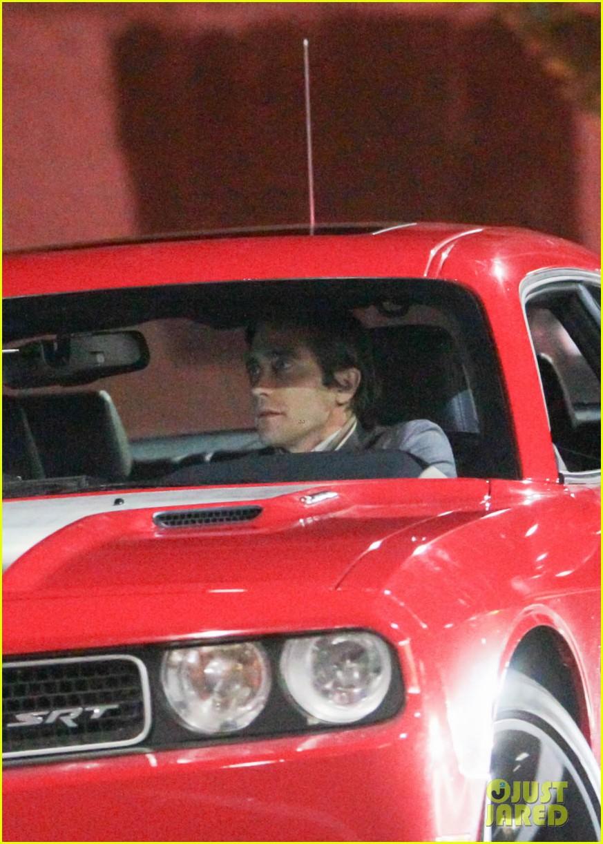 jake gyllenhaal overnight nightcrawler shoot 152976916