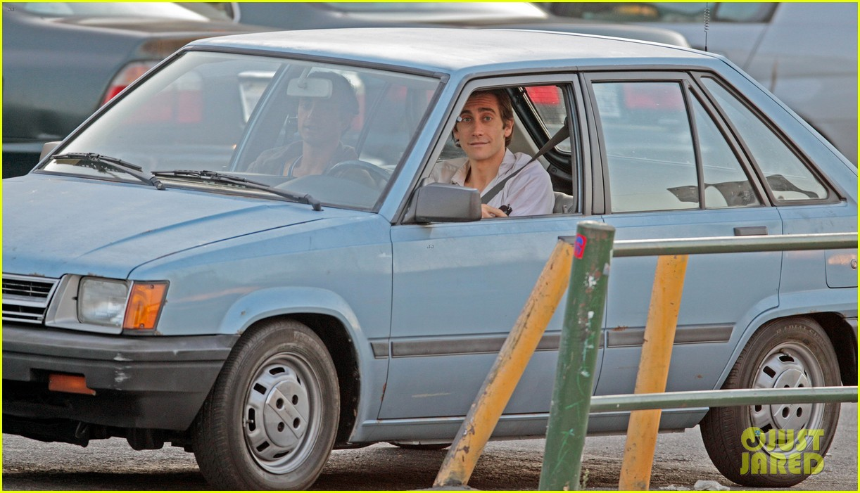 jake gyllenhaal overnight nightcrawler shoot 20