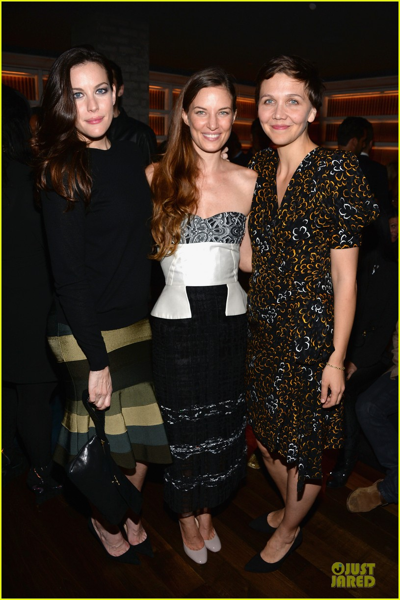 maggie gyllenhaal liv tyler the lunchbox fund fall fete 032969448