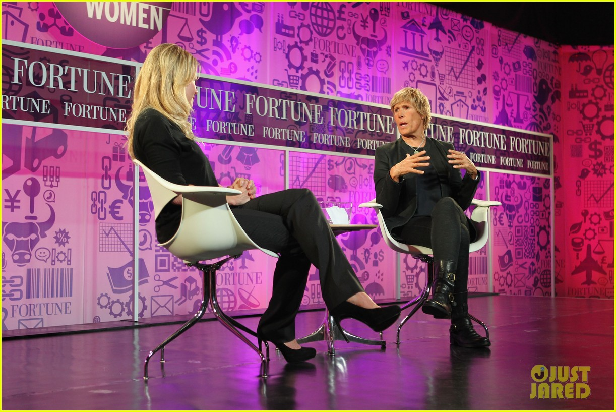 chelsea handler interviews diana nyad at fortune summit 12