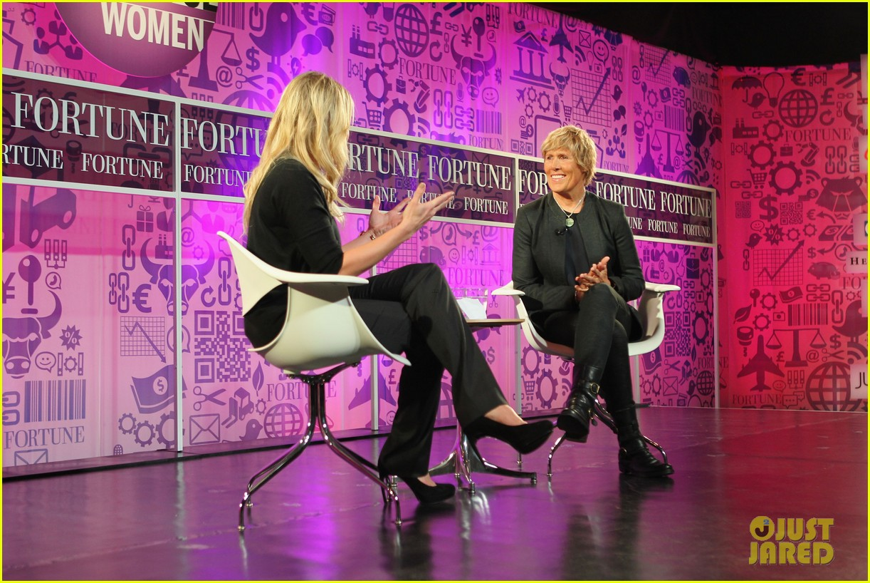 chelsea handler interviews diana nyad at fortune summit 132973260