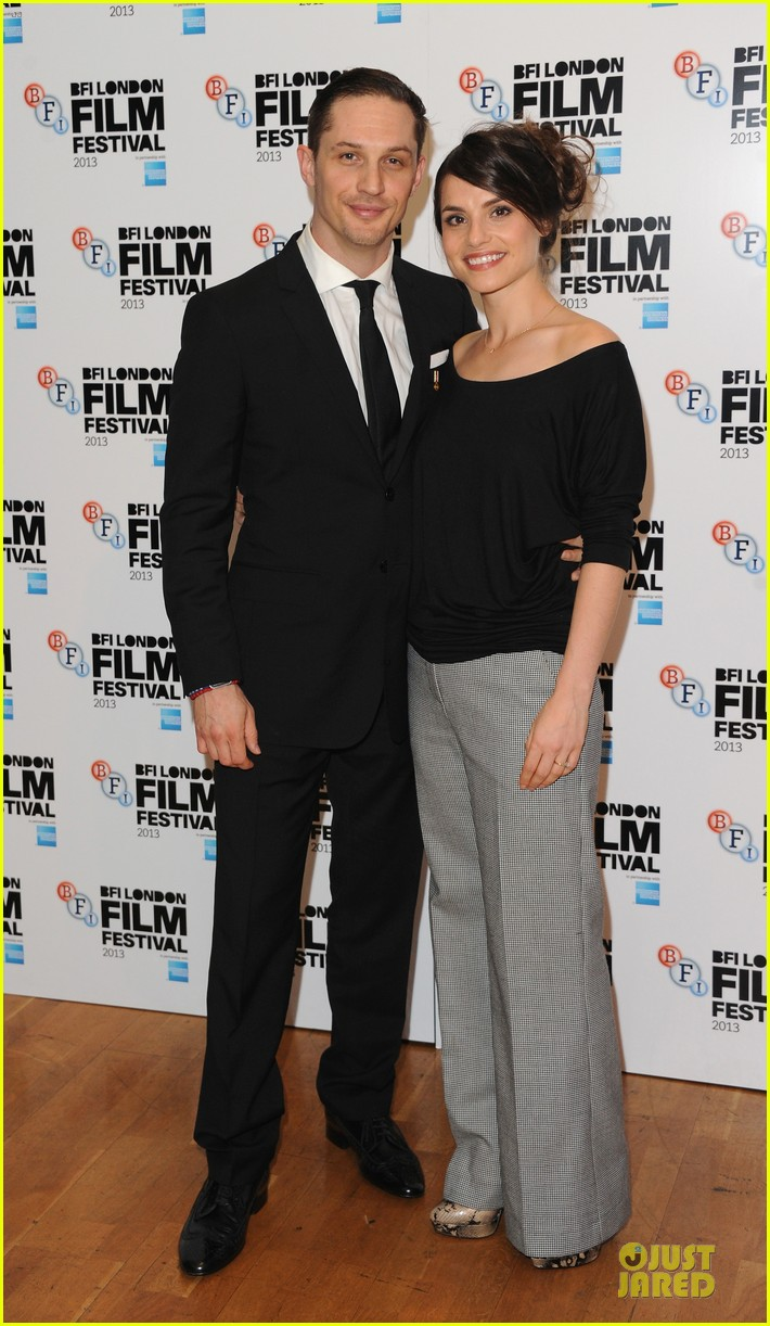 tom hardy charlotte riley locke bfi film fest screening 012974625