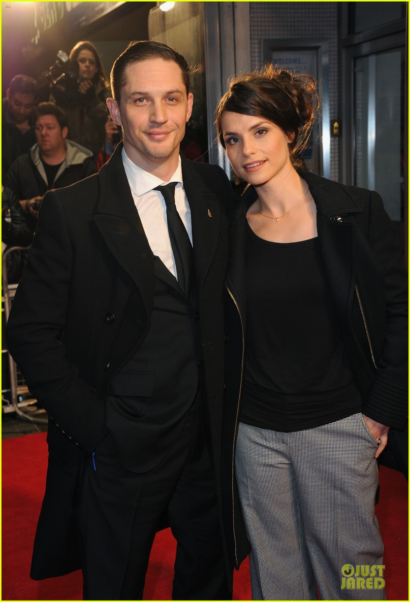 tom hardy charlotte riley locke bfi film fest screening 06