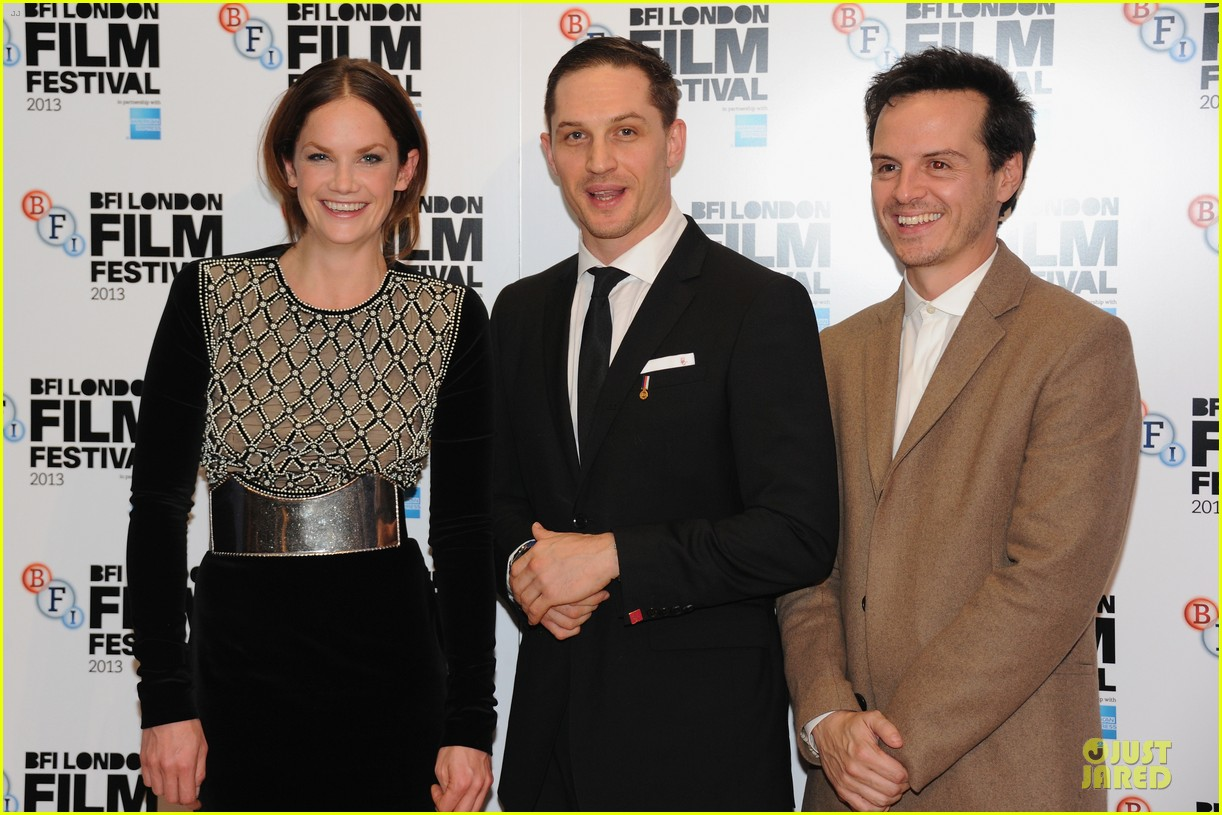 tom hardy charlotte riley locke bfi film fest screening 11