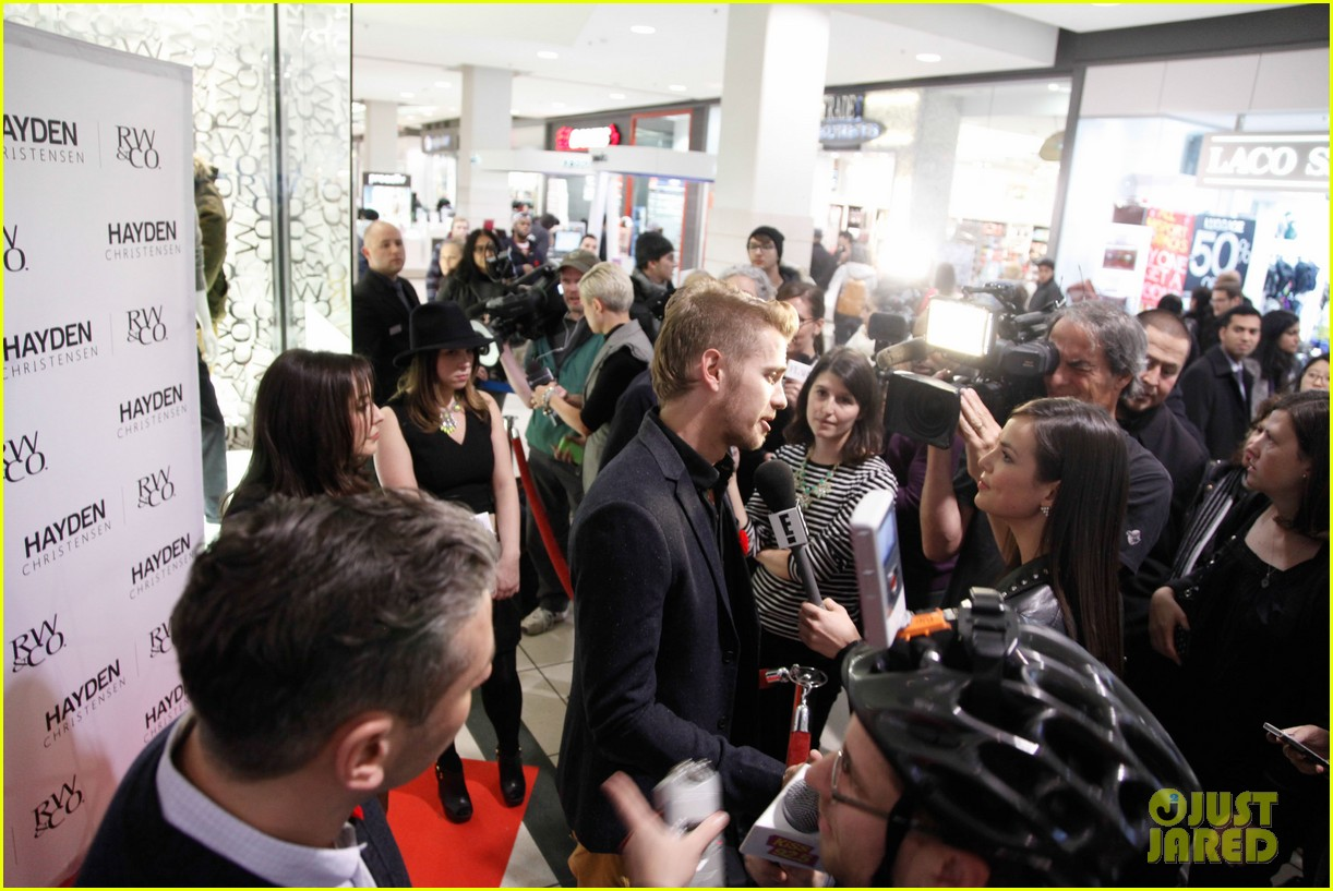 hayden christensen rwco launch event 022983490