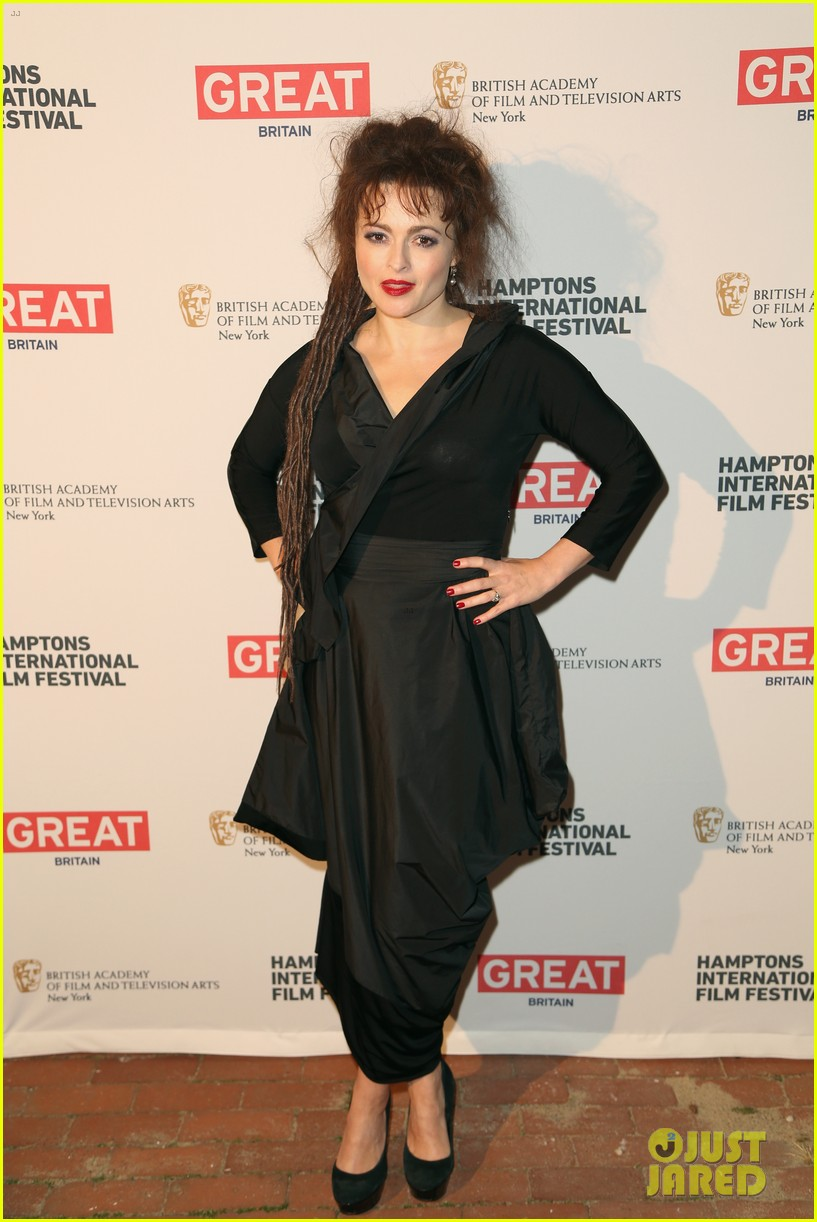 helena bonham carter rocks cornrows at hamptons film fest 012970922