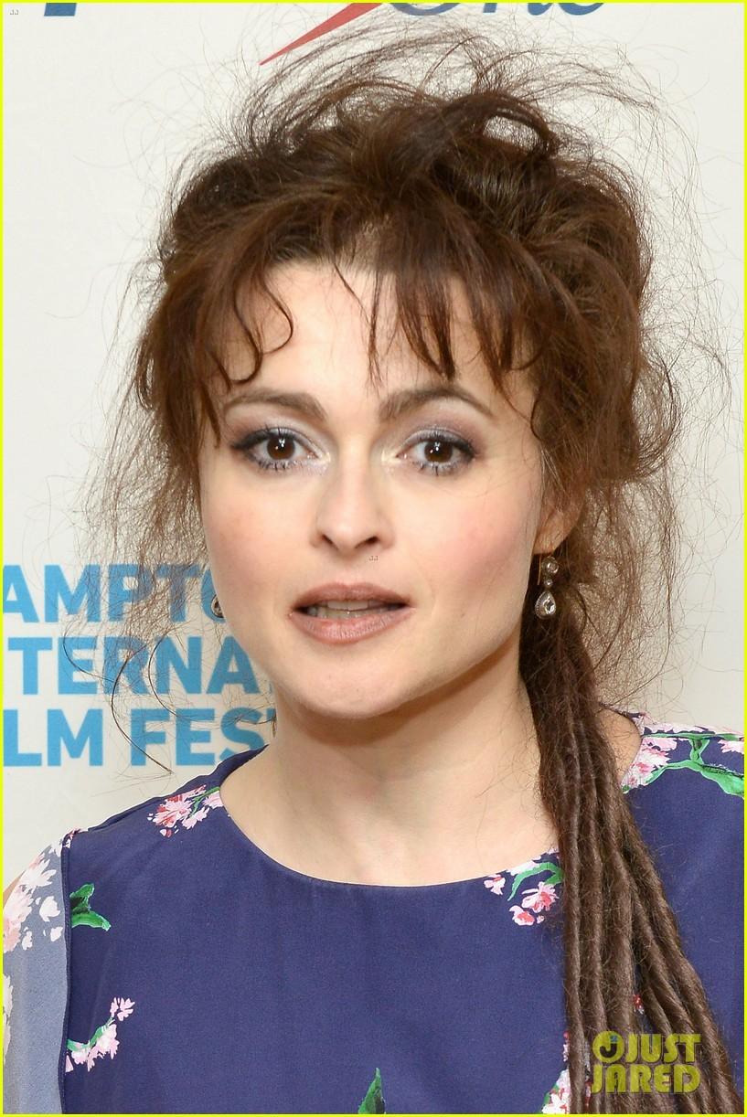 helena bonham carter rocks cornrows at hamptons film fest 04