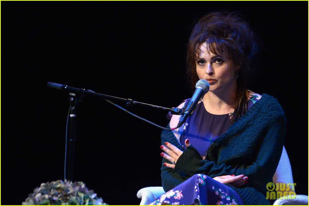 helena bonham carter rocks cornrows at hamptons film fest 09