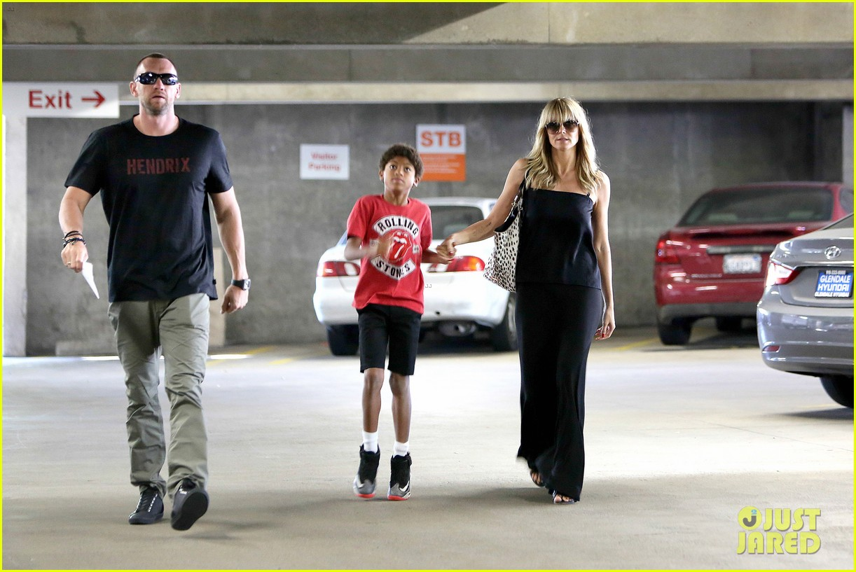 heidi klum lands in nyc after la hospital visit 06