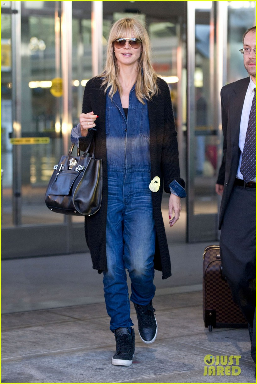 heidi klum lands in nyc after la hospital visit 262975871