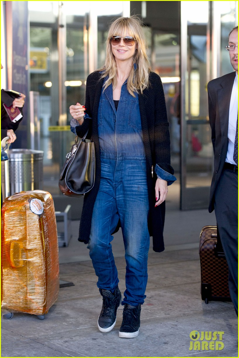 heidi klum lands in nyc after la hospital visit 28